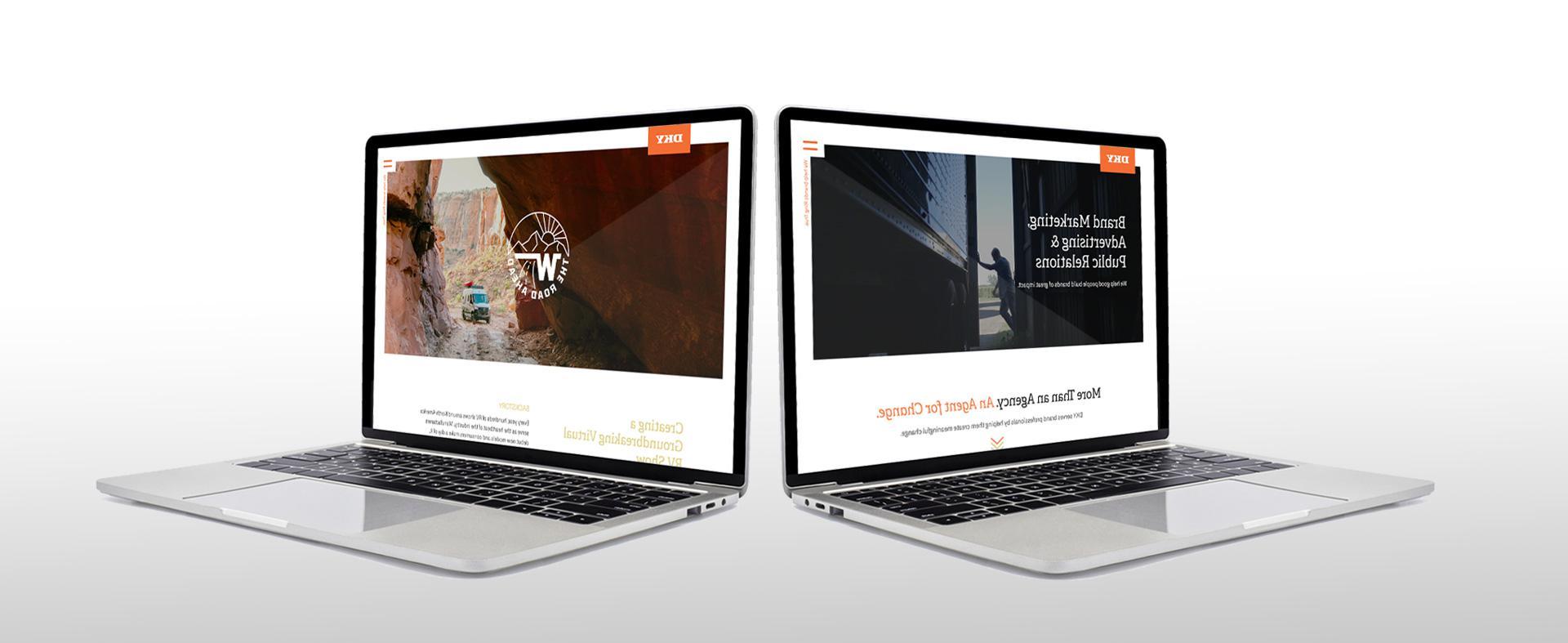 DKY推出全新的现代网站
